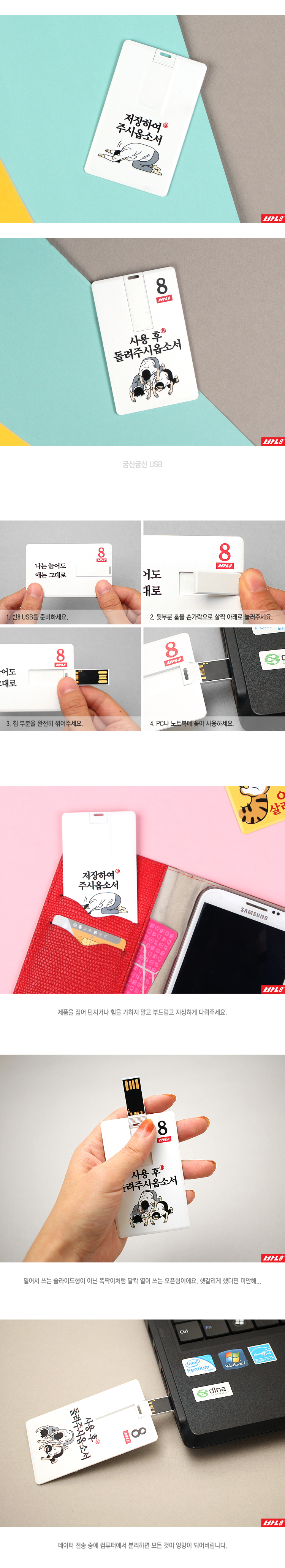 반8 굽신굽신 USB - 반8, 19,800원, USB 카드형, USB 8G이하